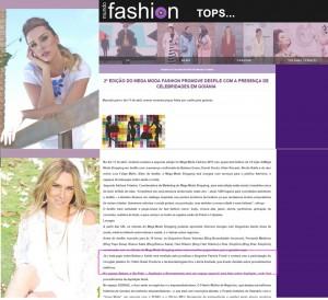 No Mundo Fashion sobre o bate-papo sobre beleza e saúde, mediado por mim, com Dr. Pablo Rassi e Dra. Letícia Andrade, na 2ª edição do Mega Moda Fashion.