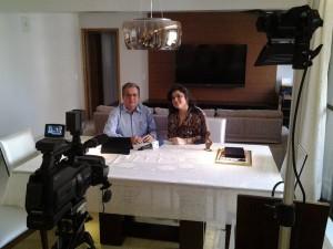 """Entrevista para  o quadro """"Você nas redes sociais"""" do Programa Maçonaria Em Foco com Aparício Donizet"""