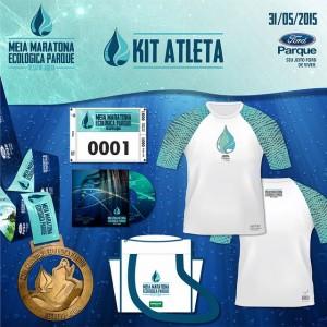 Kit Atleta - Meia Maratona Parque - 31 de maio