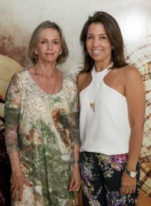 Sheila Podestá e Eliane Martins, organizadoras da Casa Cor Goiás 2015 Crédito Cristina Diniz