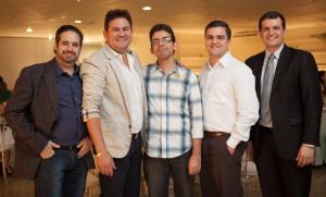 Os Diretores do CIO CERRADO - Paulo Oberdan, Tácio Henrique Silva, Gerardo Carvalho, Kelson Duarte e Eder Fantini Junqueira.