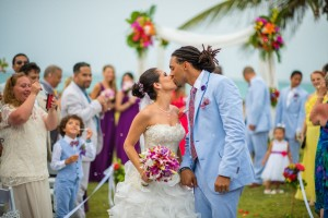 A enfermeira goiana Gabryelle Rufino se casou com o arquiteto americano Kirk Mitchell no dia 11 de Julho, em um Resort na Jamaica. O evento foi cinematograficamente registrado pela em