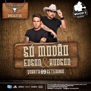 1 Quarta Woods - Show com Edson & Hudson - Eflyer