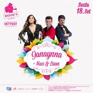 2 Sexta Woods - Janaynna - Max & Luan - Eflyer