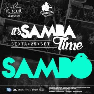 2 Sexta Woods - Sambô - Eflyer