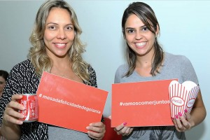 Marcela Cunha e Laiza Ribeiro