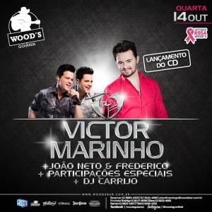 1 Quarta Woods - Festa Lançamento do CD de Victor Marinho e Convidados - Eflyer