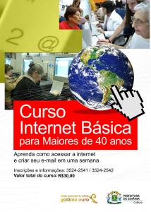 cartaz INTERNET