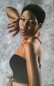 Artista Plástico Selvo Afonso - Obra Negra
