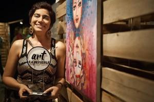 Artista plástica Cacilda Vitória foi a vencedora (1)