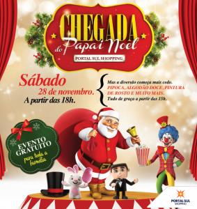 Chegada Papai Noel PORTAL SUL 2