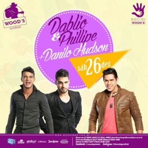 3 Sábado Woods - Dablio & Phillipe - Danilo Hudson - Eflyer