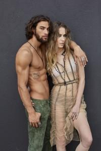 Pablo Morais e Eliza Joenck
