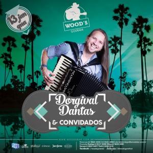 1 Quarta Woods - Show de Dorgival Dantas & Convidados - Eflyer