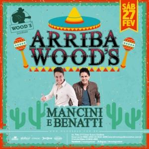 3 Sábado - Arriba Woods - Eflyer