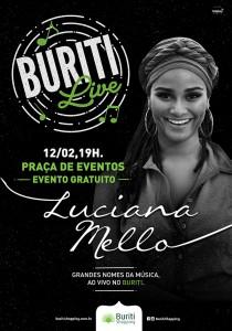 Buriti Live - Luciana Mello