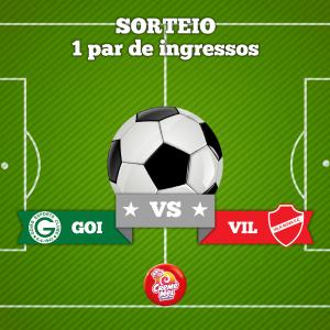 Creme Mel sorteia par de ingressos para jogo do Goiás contra Vila Nova