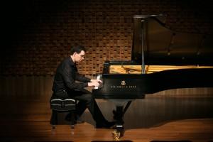 O pianista Alexandre Dias