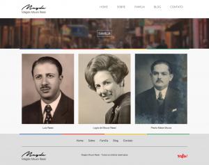 Site - Memória Virtual da Família Rassi - HOMENAGEADOS