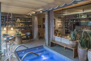 Loft Garagem Renault - detalhe piscina