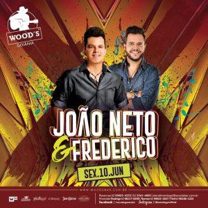 2 Sexta Woods - João Neto & Frederico - Eflyer.