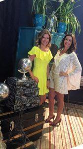 As irmãs e empresárias Cristina Arataque e Elis Mendes, diretoras da Ellystur Turismo e Viagem