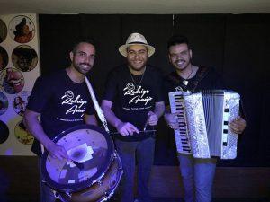 Danilo Mateucci, Rodrigo Araújo e Plácidos Santos