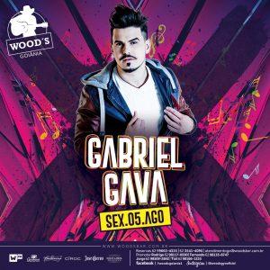 1 Sexta Woods - Show com Gabriel Gava - Eflyer.