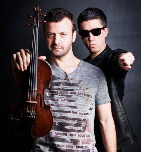 O duo Crossover é destaque na Sedna Lounge