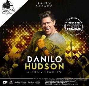 Sábado Woods - Show com Danilo Hudson - Convidados - Eflyer