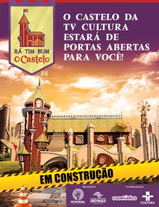 Rá-Tim-Bum O Castelo - Em construção