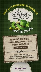 St. Patrick´s Day no Mercure Goiânia (2)