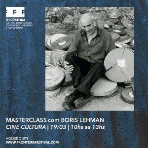 Tamplete-MASTERCLASS - BORIS LEHMAN