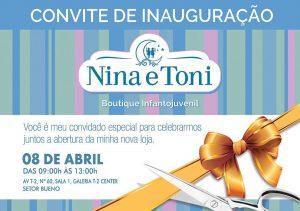 Inauguração Nina e Toni