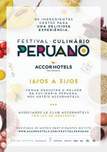 Festival Peruano - AccorHotels - Cartaz