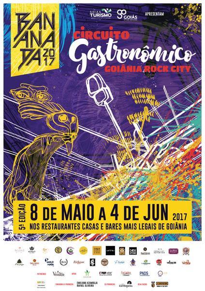 Circuito Gastronomico : Circuito gastronômico goi nia rock city amplia programação
