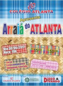 Festa junina do Colégio Atlanta no Shopping Cerrado