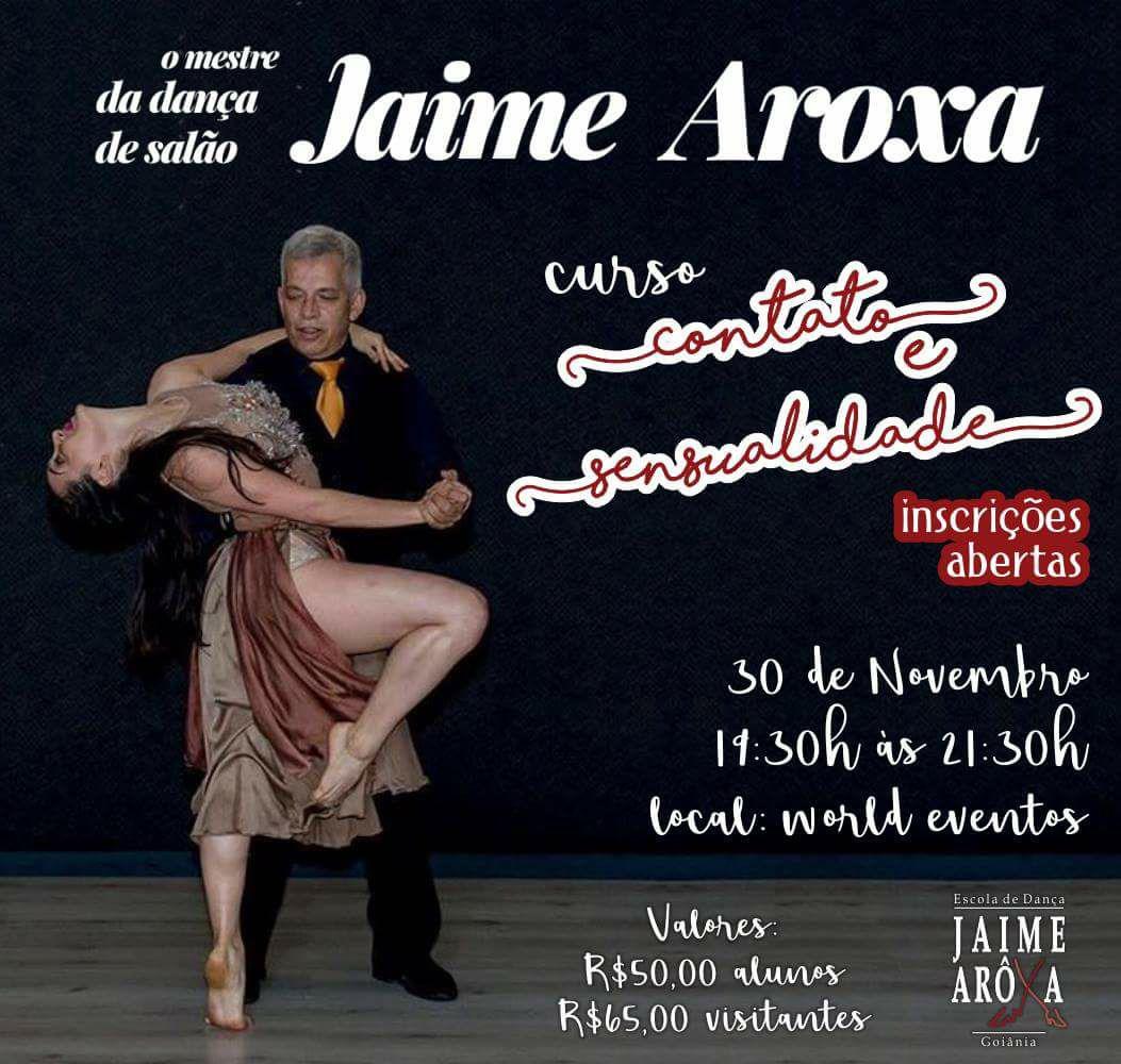 15d482fa5d O curso será ministrado professor de dança Jaime Arôxa