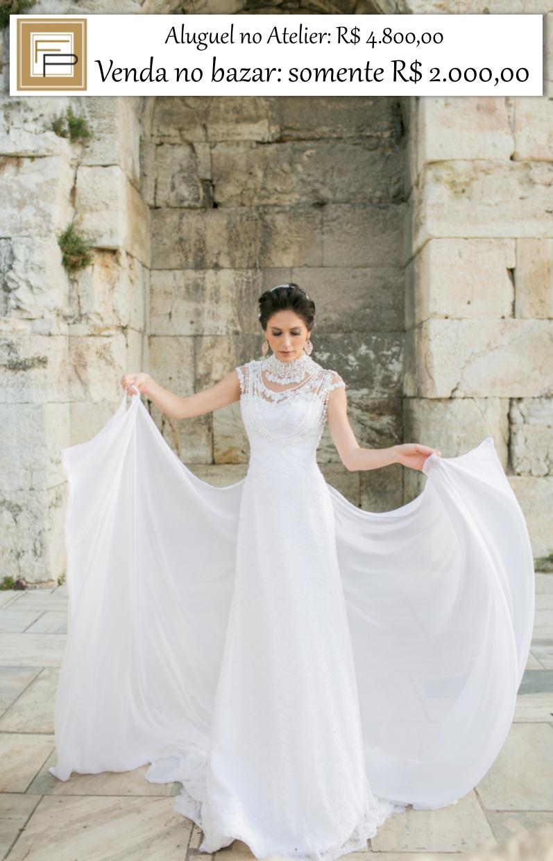 ab4405e179f6 A escolha do vestido de noiva é o ápice da preparação para o grande dia,  mas além de ser uma experiência emocionante, também pode ser árdua e  desanimadora, ...