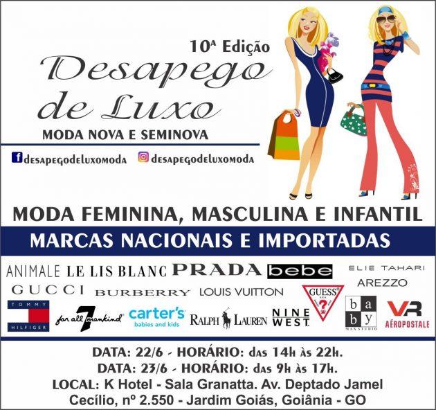 8dd8ff237a242 ... sapatos, bolsas e acessórios femininos e masculinos, e moda baby e  infantil de grifes nacionais e internacionais Goiânia recebe neste fim ...
