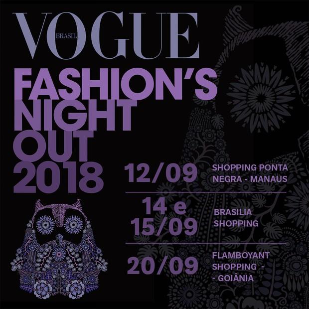 7e8513d2b Vogue Fashion's Night Out 2018 agita três capitais brasileiras ...
